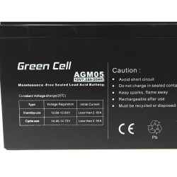 Akumulator AGM Green Cell...
