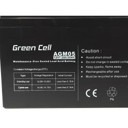 Battery AGM Green Cell 12V...